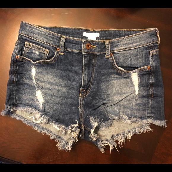 H&M Pants - H&M Denim Shorts